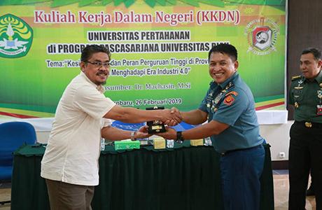 Mahasiswa FMP Unhan Laksanakan Small Group Discussion (SGD) Bersama Mahasiswa Pascasarjana UNRI