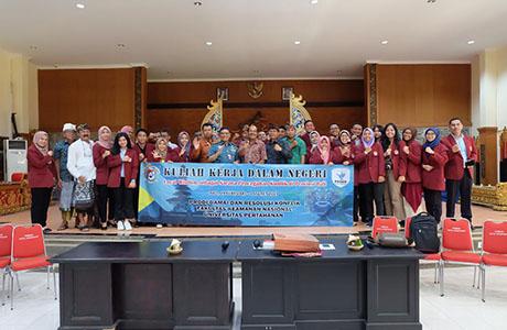 Mahasiswa FKN Unhan Laksanakan Audiensi dengan Majelis Madya Desa Pakraman Bali