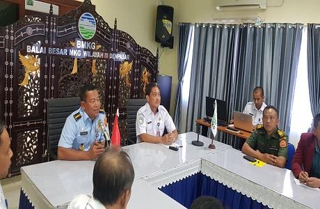 Mahasiswa Fakultas Keamanan Nasional Unhan audiensi ke BMKG wilayah III