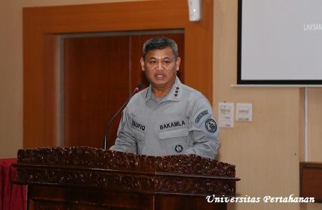 Kepala Bakamla RI Berikan Kuliah Umum kepada Mahasiswa Unhan Tentang Coast Guard of Indonesia