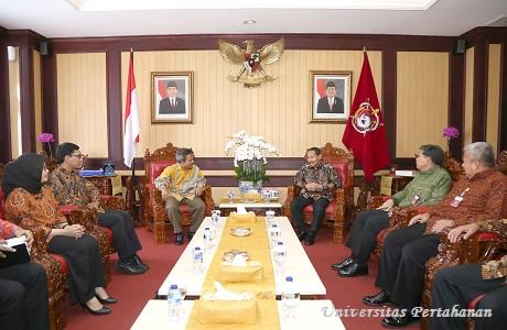 Rektor Unhan terima kunjungan perwakilan Perbanas Institut