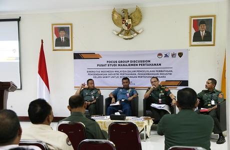 Pusat Studi Manajemen Pertahanan Unhan Bahas Potensi Pengembangan di Wilayah Perbatasan dari Perspektif Pertahan
