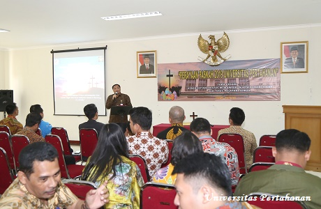 Perayaan Paskah Civitas Akademika Unhan TA. 2019