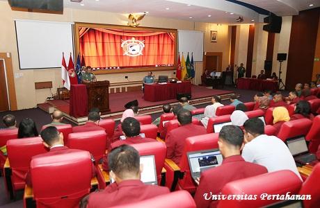 Kuliah Umum Askomlek Panglima TNI Laksma TNI Lutfi Syaefullah, S.H., M.M, MMDS
