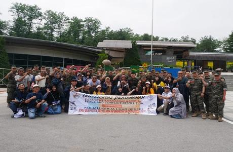 KKLN Fakultas Keamanan Nasional Unhan Kunjungi Demilitarization Zone dan Dora Observatory di Korea Selatan