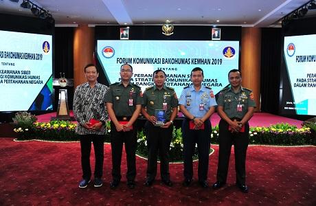 Forum Komunikasi Bakohumas Bahas Keamanan Cyber Untuk Pertahanan Negara