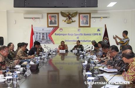 Kunjungan Komisi I DPR RI ke Unhan