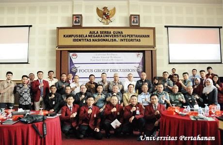Mahasiswa Unhan Gelar Focus Group Discussion tentang Strategi Inovasi Rudal.
