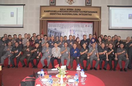 Universitas Pertahanan Melaksanakan Sosialisasi Instrumen Akreditasi Program Study  4.0 Dalam Rangka AMI TA. 2019