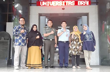 Kasatwas Unhan Laksanakan Studi Banding ke Universitas Brawijaya