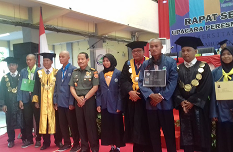Rektor Unhan Memberikan Kuliah Umum kepada Mahasiswa Universitas Borneo Tarakan