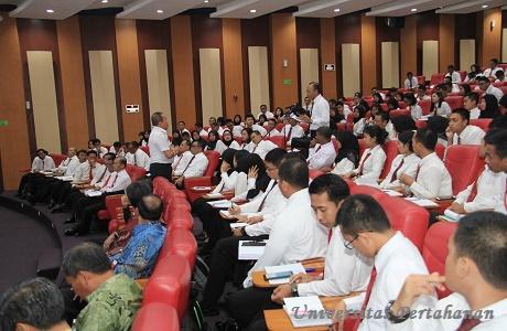 Unhan Terima Kunjungan Gubernur Lemhannas RI Letjen TNI (Purn) Agus Widjojo