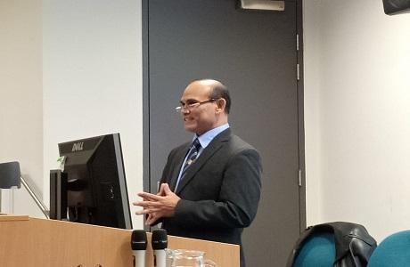 Unhan Melaksanakan Visiting Profesor di NSC-ANU, Australia