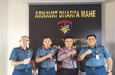 Mahasiswa Universitas Pertahanan Indonesia (UNHAN) Program Studi Strategi Pertahanan Laut (SPL) Laksanakan Penelitian Di Wilayah Selat Sunda