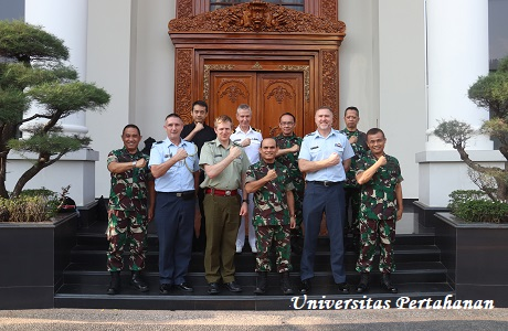 Unhan terima Coutesy Call New Zealand Advance Command and Staff Course (JOINT)