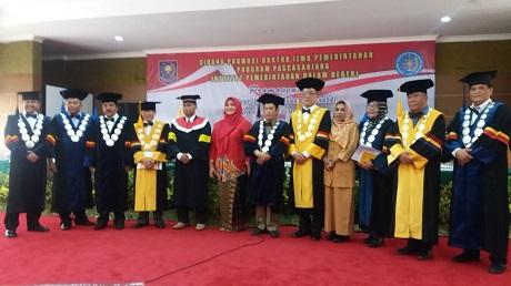 Dosen Unhan Menjadi Penguji Pada Ujian Terbuka Doktoral S3 IPDN