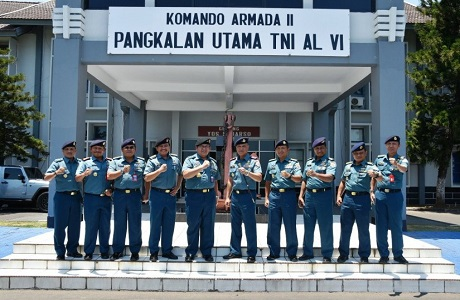Dekan FMP Unhan laksanakan  kunjungan penelitian di Lantamal IV Makasar