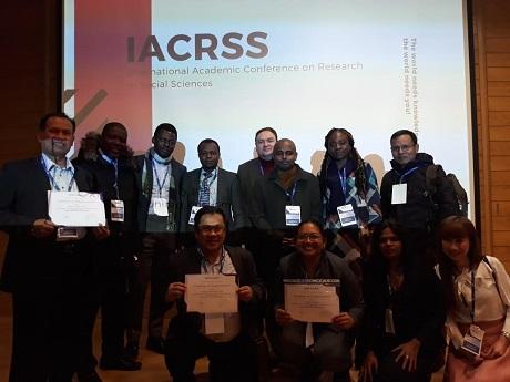 Mahasiswi Unhan Ikuti International Academic Conference of Research   Sciences di Oxford University