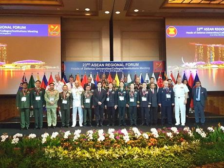 Unhan hadiri acara 23rd ASEAN Regional Forum Heads of Defence Universities/Colleges/Institutions Meeting (23rd ARF HDUCIM)