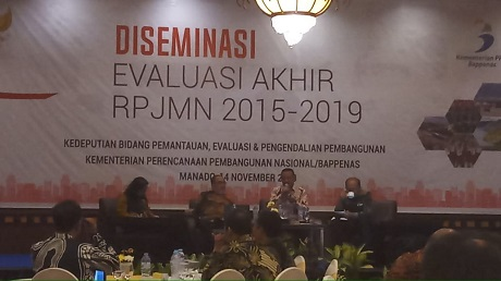 Unhan Hadiri DISEMINASI Evaluasi Akhir RPJMN 2015-2019