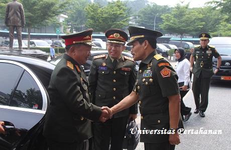 Rektor Unhan Terima Kunjungan Menteri Pertahanan RDR Laos