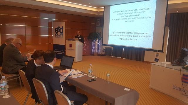 "Wakil Dekan FMP Unhan Presentasikan Paper Pada Acara ""49th International Scientific Conference on Economic and Social Development ""Building Resilience Society"" di Kroasia"