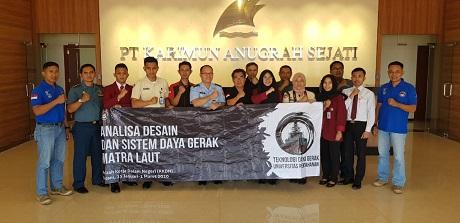 Mahasiswa Fakultas Teknologi Pertahanan Unhan Melaksanakan KKDN Dengan Penelitian di Batam