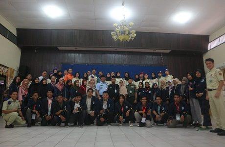 Pengabdian Kepada Masyarakat, Mahasiswa Fakultas Keamanan  Nasional Manajemen Bencana Unhan Ajarkan Bela Negara hingga Simulasi Bencana