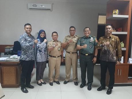 Mahasiswa Fakultas Strategi Pertahanan Unhan Melaksanakan KKDN di BAPPEDA Pemprov. Sulawesi Tenggara
