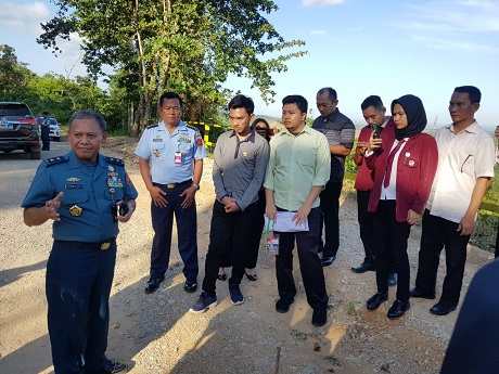 Fakultas Keamanan Nasional Unhan Tinjau Titik Nol Ibu Kota Negara di Penajam Paser Utara Kaltim