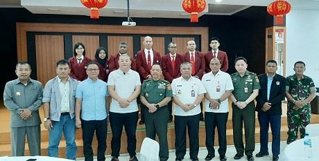 KKDN Fakultas Strategi Pertahanan Unhan  Kunjungi PT. Virtue Dragon Nickel Industry (VDNI)