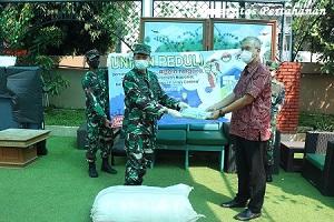 Unhan Berikan Bantuan APD Bagi Petugas Medis Di RSUD Kota Bogor