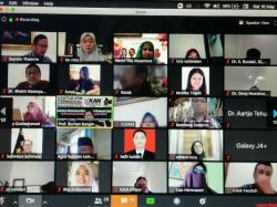 Dekan FMP Unhan Selaku Ketua Ketua Formatur Indonesia Researchers Association (IRA) Membuka Program Pelatihan dan Sertifikasi Peneliti Kuantitatif Internasional