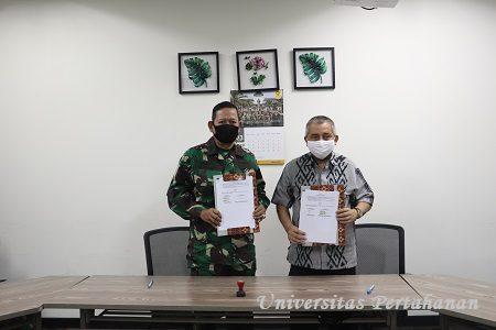 Unhan Laksanakan Penandatangganan Perjanjian Kerjasama dengan Universitas Indonesia (UI) persiapan Pembentukan Fakultas Farmasi Militer Unhan