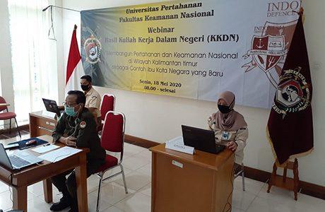 Fakultas Keamanan Nasional Unhan Melaksanakan Webinar Hasil KKDN
