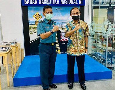 Rektor Unhan Mengunjungi BNN untuk Jalin Kerja sama