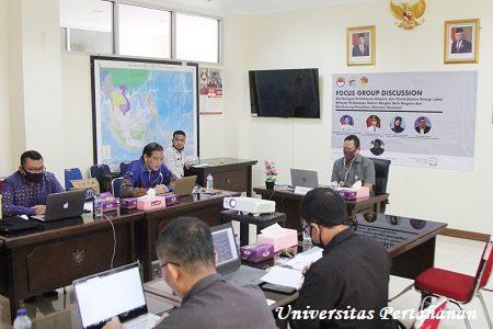 Fakultas Manajemen Pertahanan Unhan Laksanakan FGD Online Tentang Pemanfaatan Energi Lokal Wilayah Perbatasan untuk Mendukung Pemulihan Ekonomi Nasional