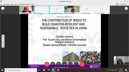 Unhan Jalin Kerjasama dengan Tohoku University Melalui KKLN Prodi Manajemen Bencana