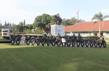 Wamenhan RI Membuka Pendidikan Dasar Militer Pendidikan (Diksarmil) Kadet Mahasiswa S1 Unhan