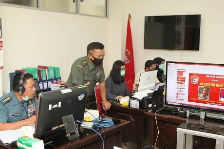 FSP Unhan Laksanakan Akreditasi Prodi Strategi Pertahanan Laut (SPL)