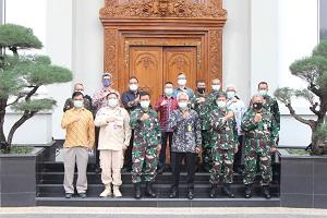 Fakultas Teknik Militer Unhan Laksanakan Penandatanganan Kerja Sama dengan Fakultas Teknik UI