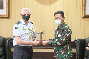 Kunjungan Tamu Acting Australian Defence Attache