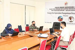 Fakultas Keamanan Nasional Unhan gelar Webinar mewujudkan semangat Bela Negara dalam penanggulanggan Bencana