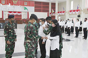 Unhan Laksanakan Upacara Pembukaan Penataran Bela Negara untuk Dosen Prodi S1-Unhan