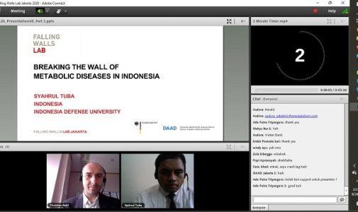 Dosen Fakultas Farmasi Militer Unhan Sebagai Finalis dalam Falling Walls Labs Jakarta 2020