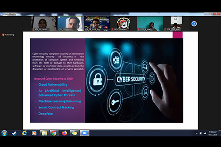 "FTP Unhan Laksanakan Webinar Hasil KKLN bertajuk ""Strengthening Defense Science, Technology and Industry for National Self – Reliance"""