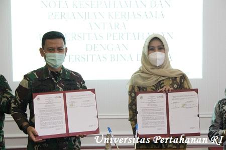Unhan Laksanakan MoU dan Perjanjian Kerja Sama (PKS) Dengan Universitas Bina Darma Palembang