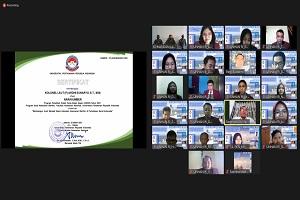 Mahasiswa S2 Prodi KM FKN Unhan RI Laksanakan KKDN Online bertajuk Membangun Aceh Menjadi Basis Kekuatan Keamanan Maritim di Perbatasan Barat Indonesia