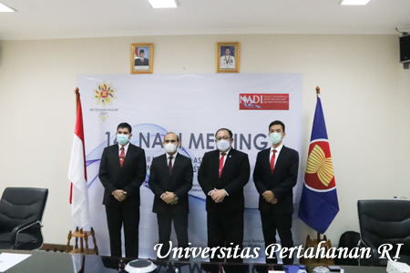Unhan RI ikuti Track II 14th Network Of Asean Defence And Security Institutions (Nadi) Meeting