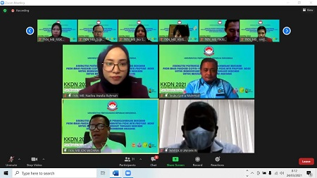 Prodi Manajemen Bencana Unhan RI Adakan KKDN Online Hari Ketiga di Kabupaten Pidie Jaya, Aceh